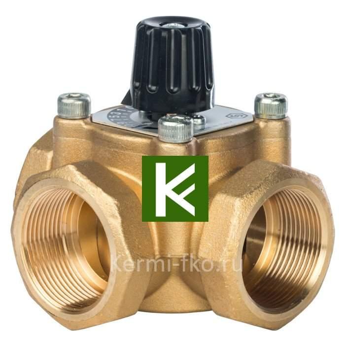 Трехходовой смесительный клапан Stout термосмесительный клапан Стаут 1 1/2
