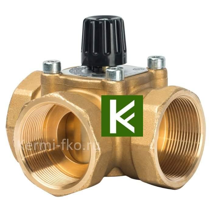 Трехходовой смесительный клапан Stout термосмесительный клапан Стаут 2