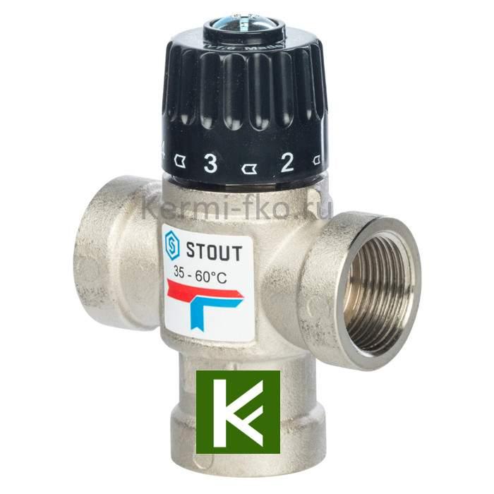 Смесительный клапан Stout SVM-0110-166020