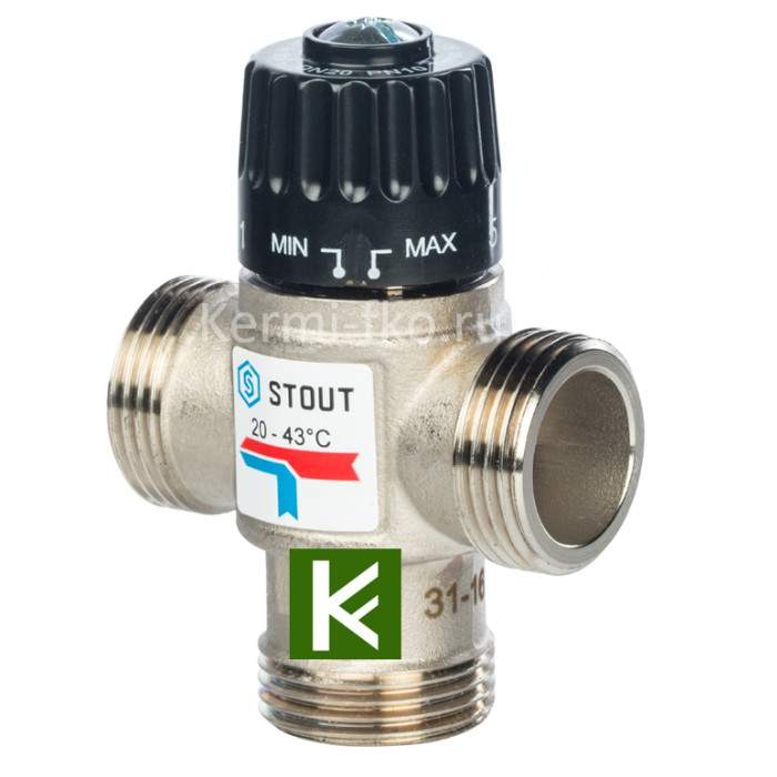 Смесительный клапан Stout SVM-0120-164325
