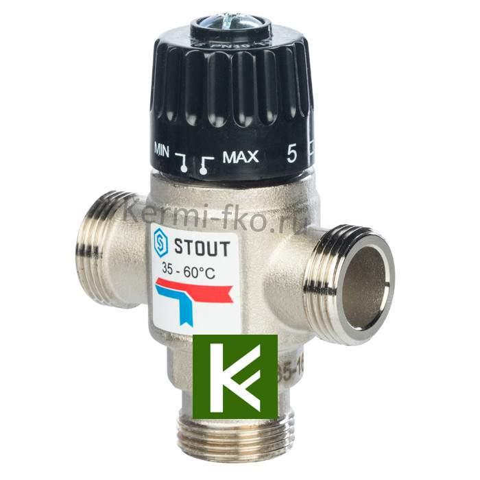Смесительный клапан Stout SVM-0120-166020