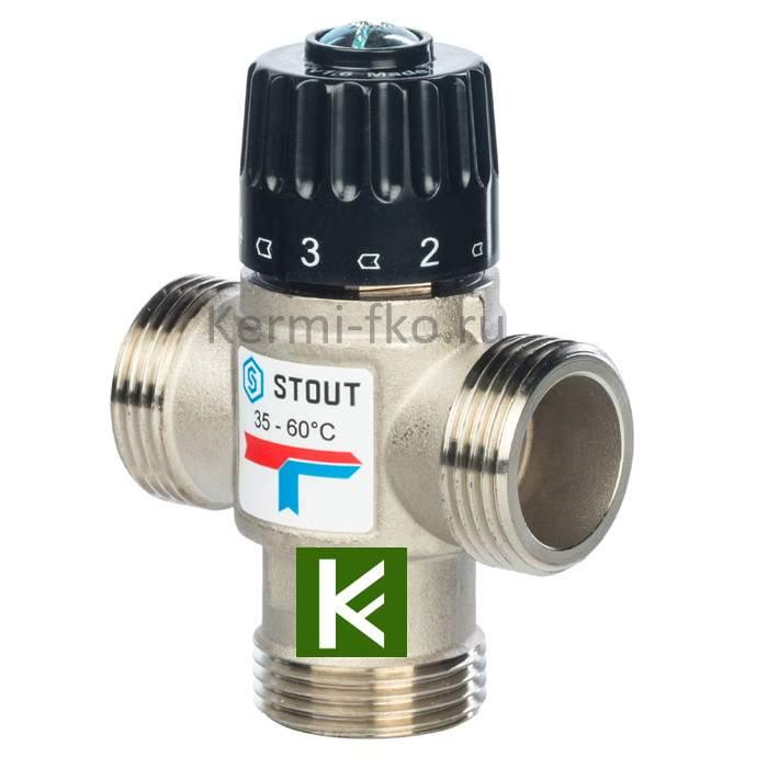 Смесительный клапан Stout SVM-0120-166025