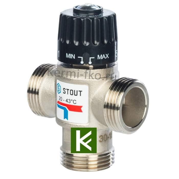 Смесительный клапан Stout SVM-0120-254325