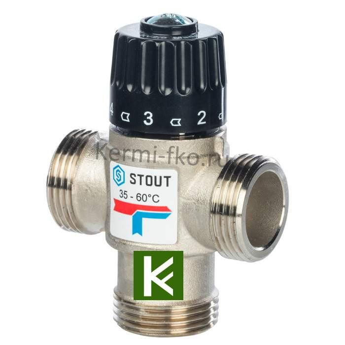 Смесительный клапан Stout SVM-0120-256025