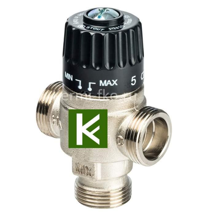 Смесительный клапан Stout SVM-0125-236520