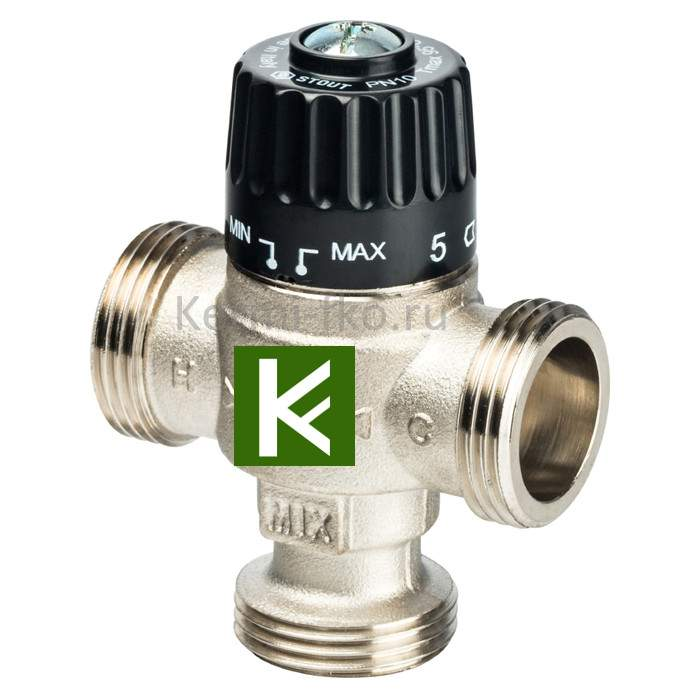 Смесительный клапан Stout SVM-0125-236525