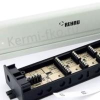 Автоматика для теплого пола Rehau фото