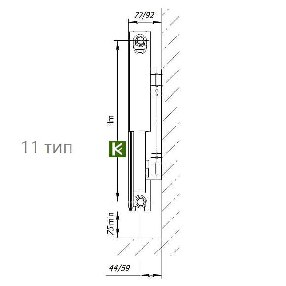 стальные панельные радиаторы Аксис - батареи отопления Axis