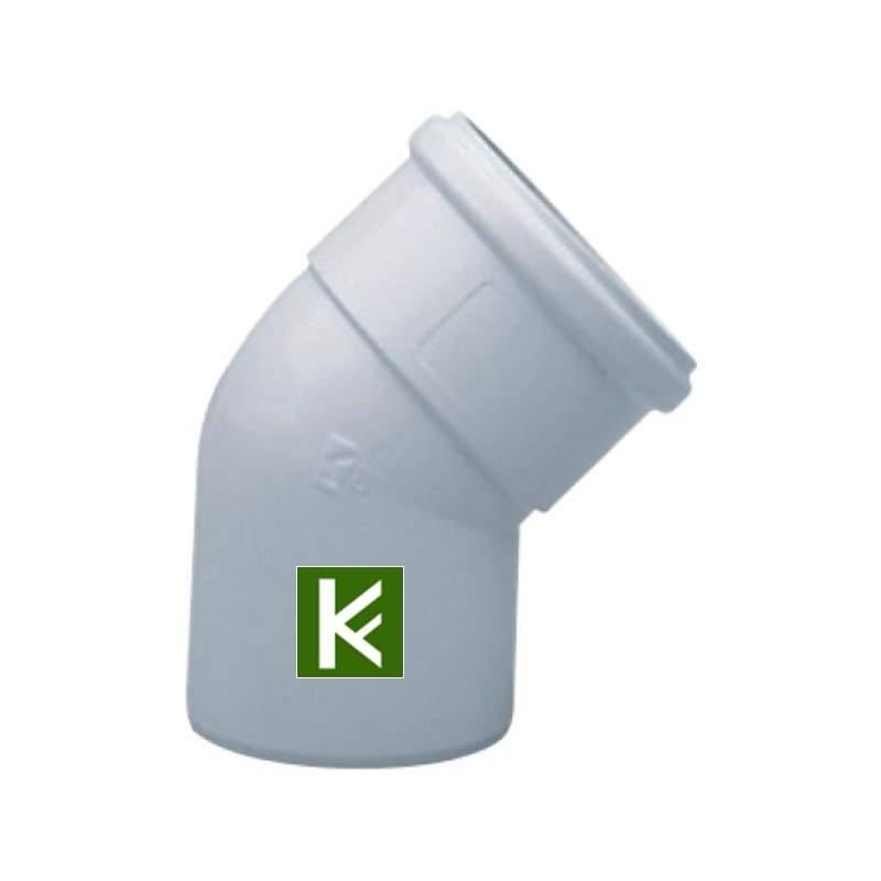 Отвод полипропиленовый 45°, DN 80, HT для газовых котлов Baxi KHG71405931- (Бакси)
