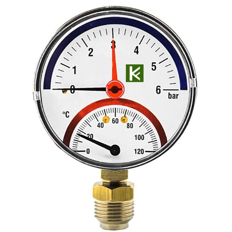 Термоманометры радиальные Elsen (Элсен)