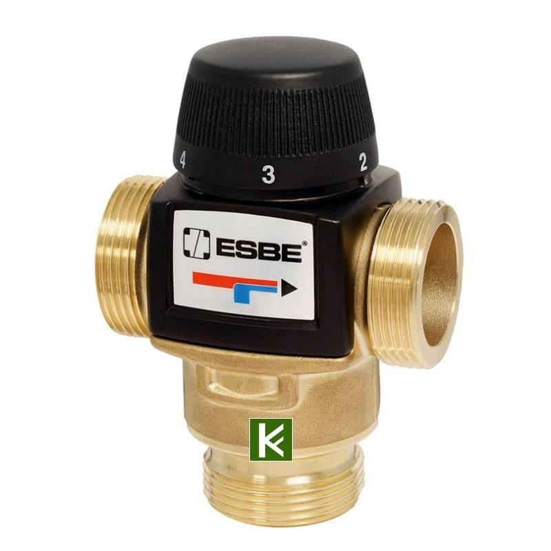 Трехходовой смеситель Esbe VTA522 3162 01 00 - клапаны Эсби