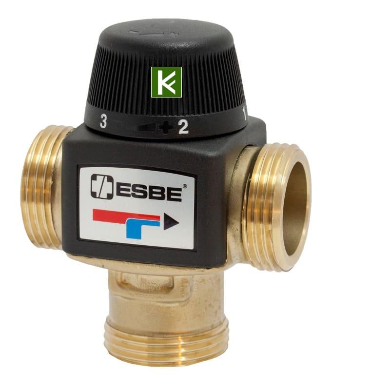 Трехходовой смеситель Esbe VTA572 3170 21 00 - клапаны Эсби