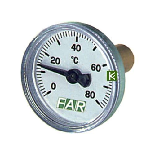 термометр FAR для отопления и водоснабжения