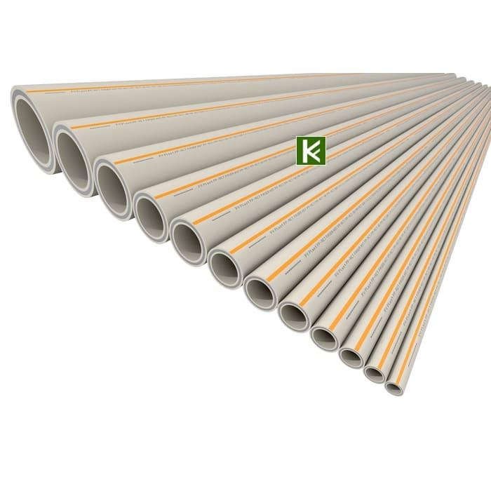 Полипропиленовые трубы FV-Plast PP-RCT Faser Hot - труба ФВ Пласт для отопления и водоснабжения