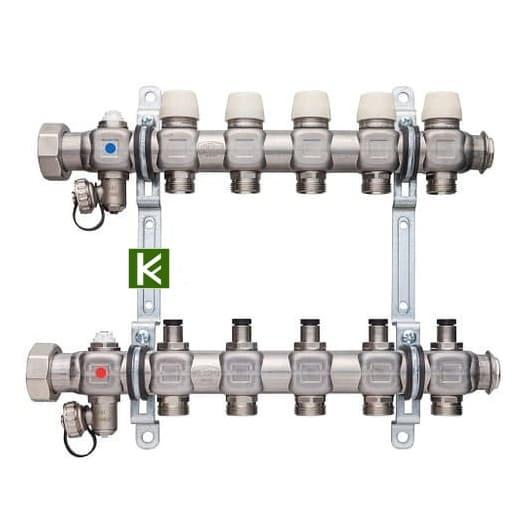 Коллекторы Kermi для радиаторов отопления
