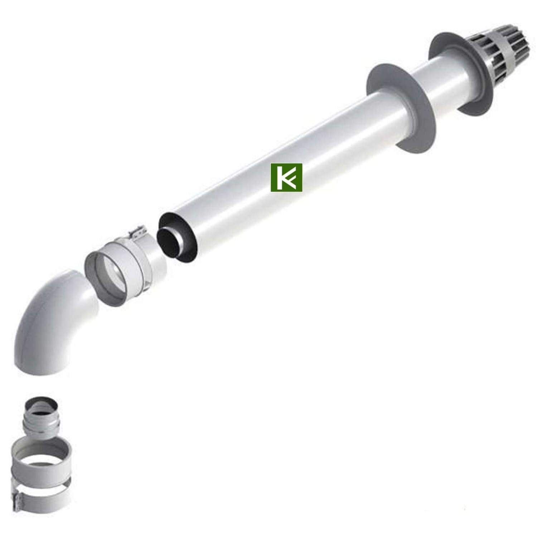 Комплект коаксиального дымохода Protherm DN 60/100-1000 мм (Протерм)
