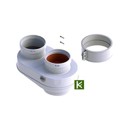 Разделительный адаптер DN 80/80 мм для котлов Protherm (Протерм)