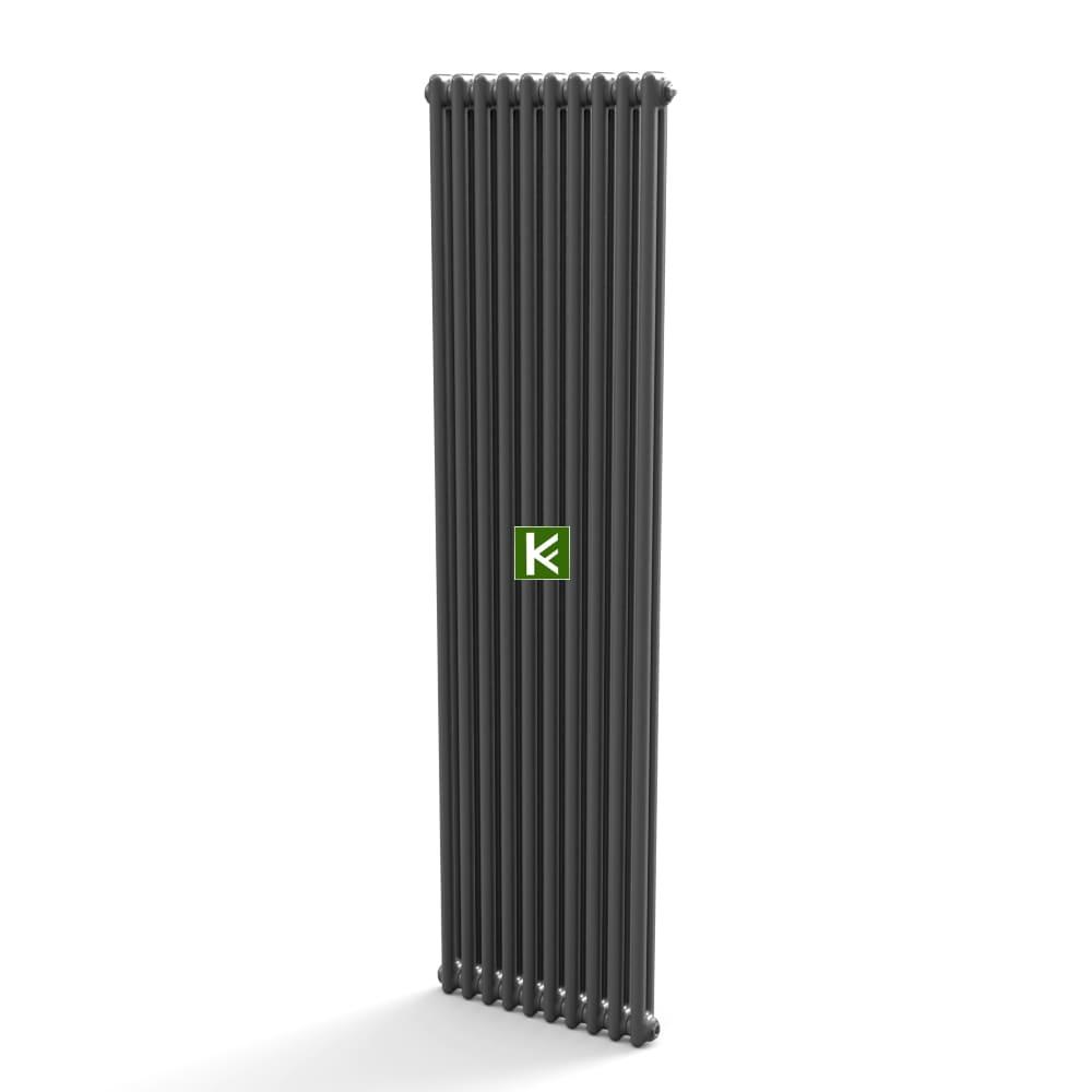 вертикальные радиаторы Arbonia 3180 - батареи отопления Арбония 3180 с нижним подключением (Антрацит)