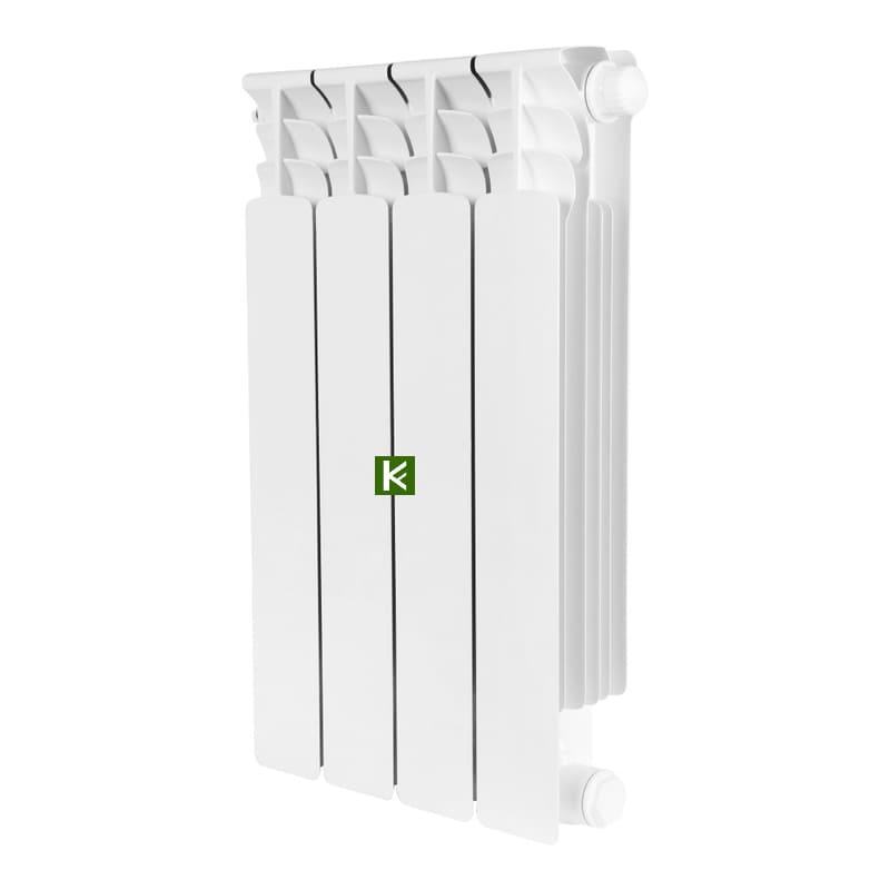 Радиатор Stout Space 500 4 секции (радиаторы отопления Стаут с нижним подключением)