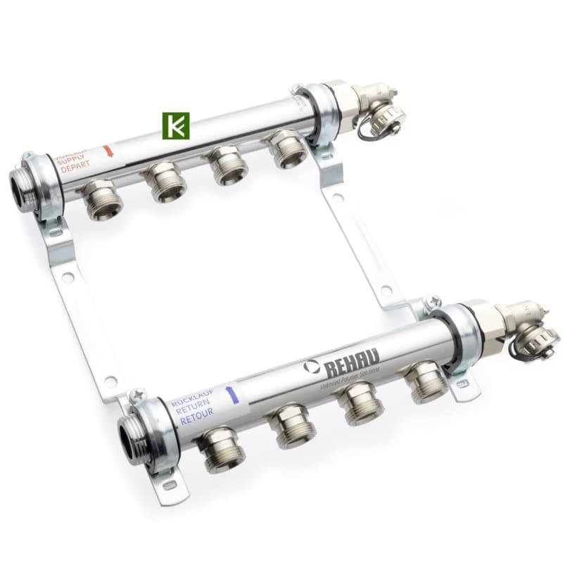 Коллекторы Rehau HLV для радиаторов отопления (коллектор Рехау)