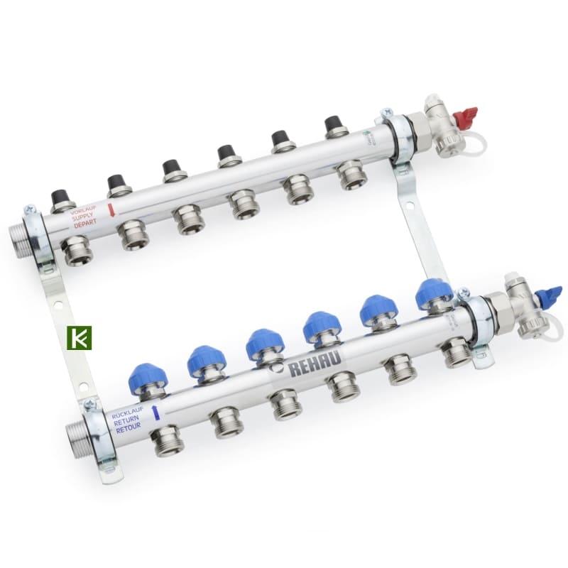 Коллекторы Rehau HKV для радиаторов отопления (коллектор Рехау)