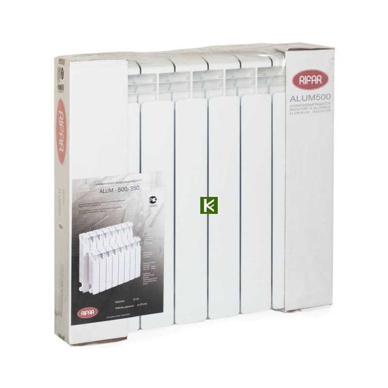 Алюминиевые радиаторы отопления RIFAR Alum Ventil 500 нижнее подключение