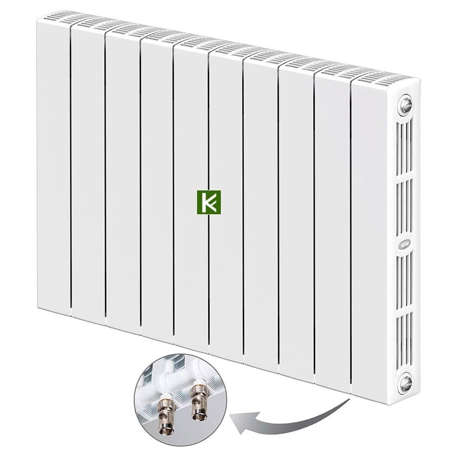 Биметаллические радиаторы RIFAR SUPReMO Ventil 350 - радиаторы отопления Рифар с нижним подключением