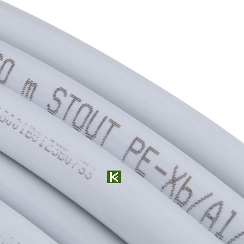 Труба для теплого пола STOUT из сшитого полиэтилена
