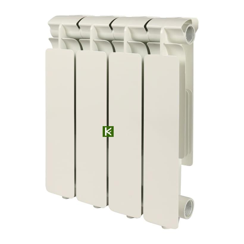 Радиатор STOUT BRAVO 350 4 секции - алюминиевые радиаторы отопления Стаут Браво