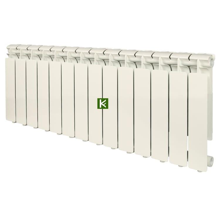 Радиатор STOUT BRAVO 350 14 секций - алюминиевые радиаторы отопления Стаут Браво