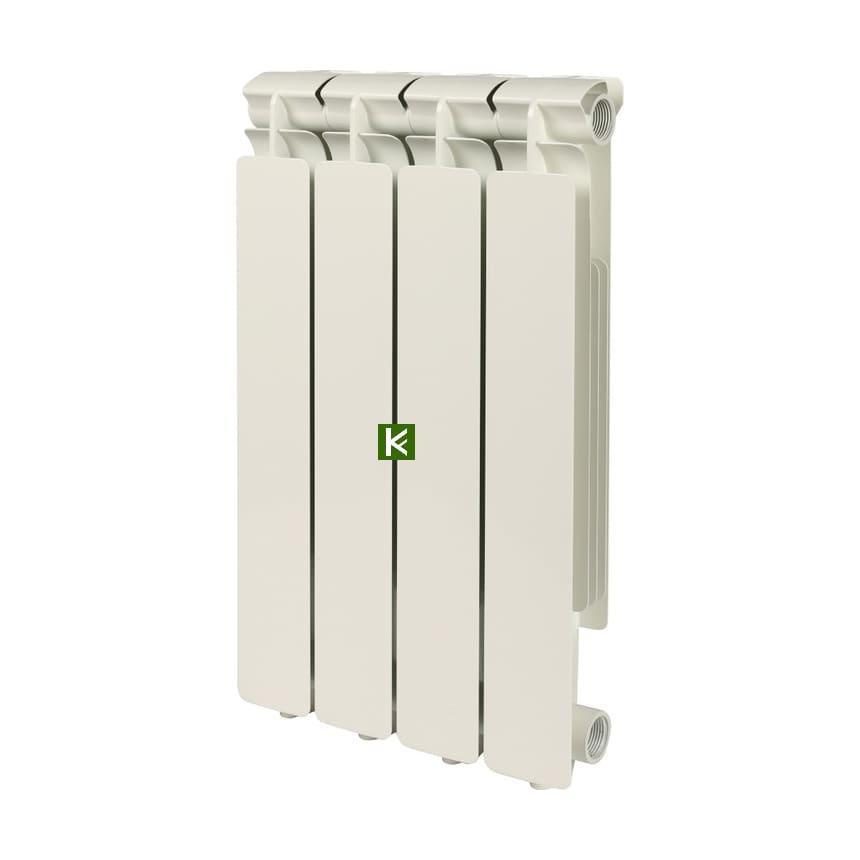 Радиатор STOUT BRAVO 500 4 секции - алюминиевые радиаторы отопления Стаут Браво