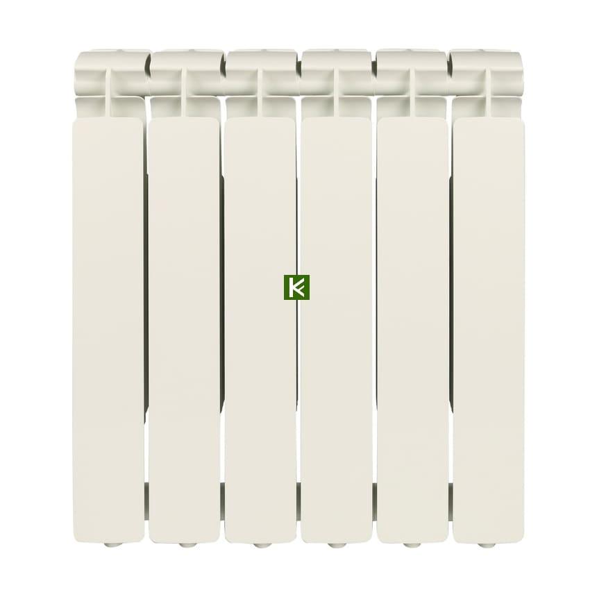Радиатор STOUT BRAVO 500 6 секций - алюминиевые радиаторы отопления Стаут Браво