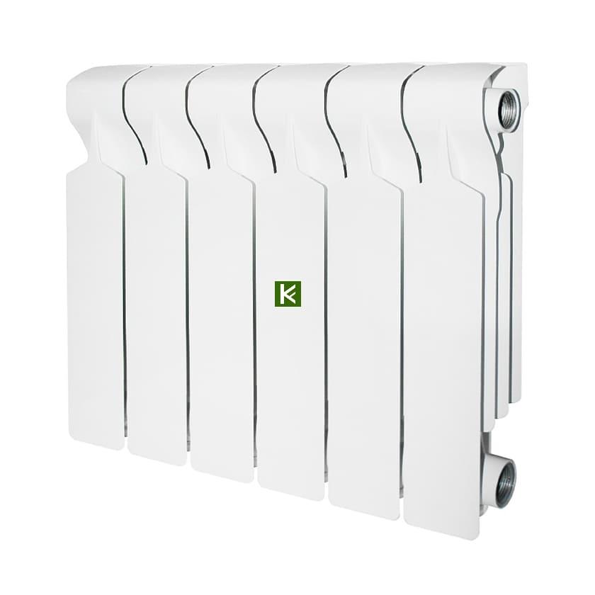Радиатор STOUT VEGA 350 6 секций - алюминиевые радиаторы отопления Стаут Вега