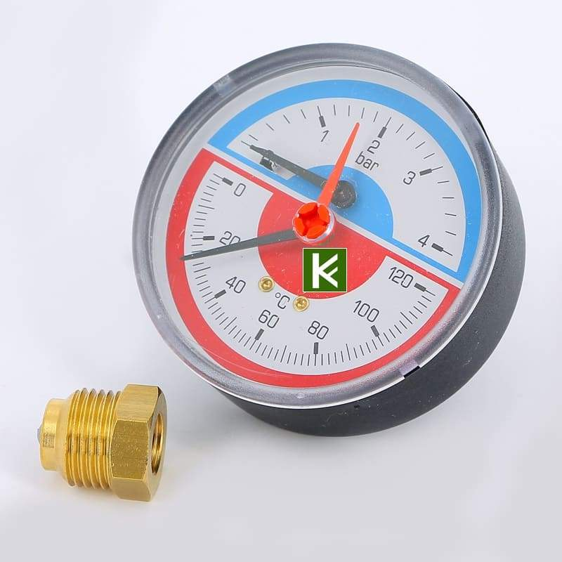 Термоманометр аксиальный Emmeti