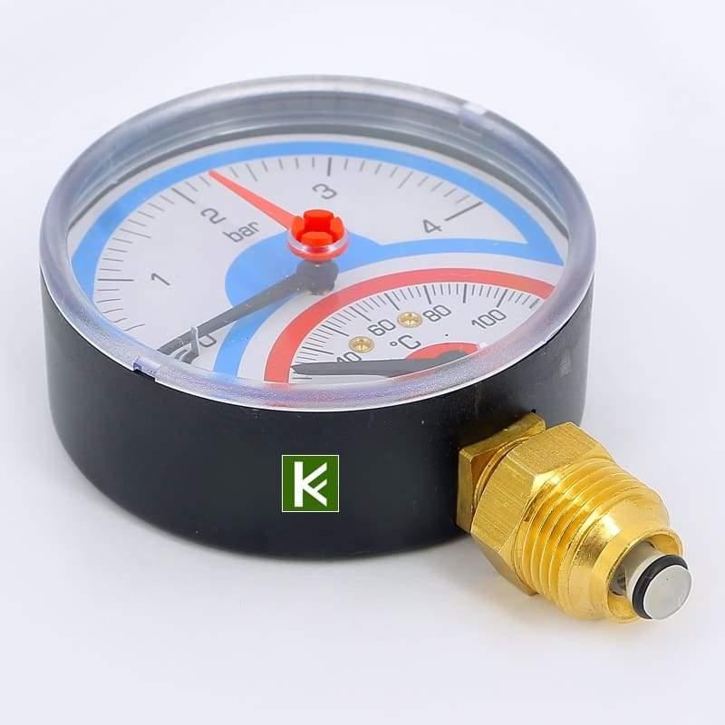 Термоманометр радиальный Emmeti