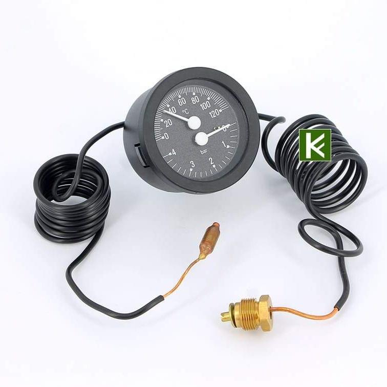 Термоманометры Emmeti (Еммети)