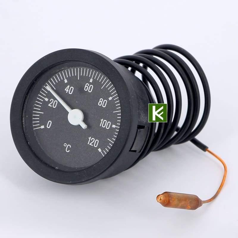 Термометр биметаллический EMMETI дистанционный с капиллярной трубкой (Еммети)