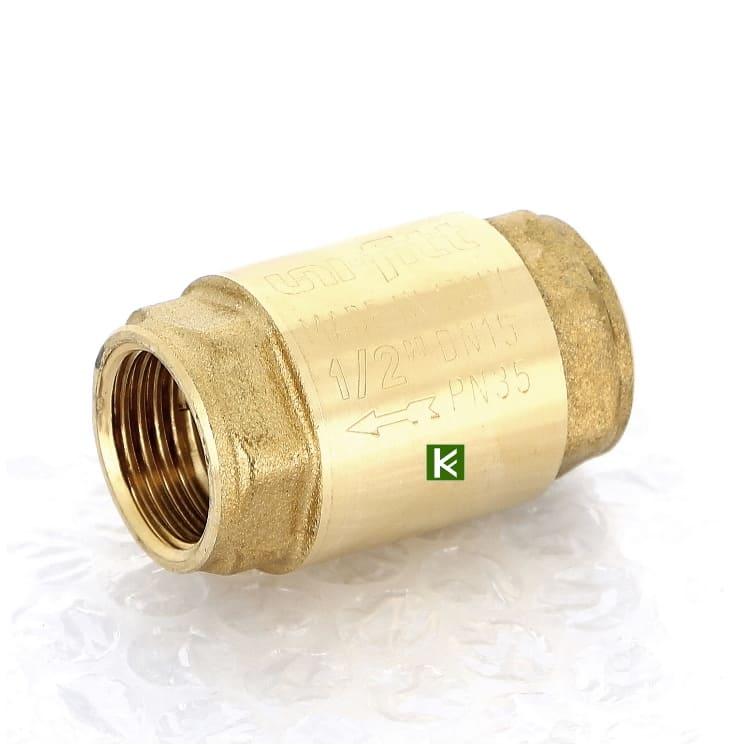 Обратные клапаны пружинные Uni-fitt с металлическим затвором (Юнифит)