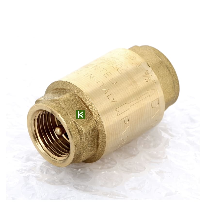 Обратные клапаны Uni-fitt EUROPA пружинные с металлическим затвором (Юнифит)