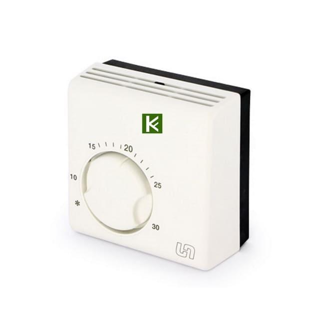 Комнатный проводной термостат Uni-Fitt 330I2000 - автоматика для водяного теплого пола Юнифит