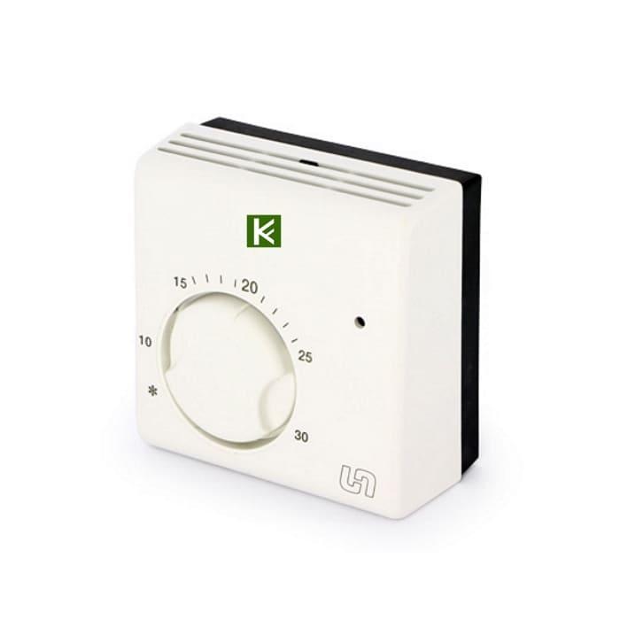 Комнатный проводной термостат Uni-Fitt 331I2000 - автоматика для водяного теплого пола Юнифит