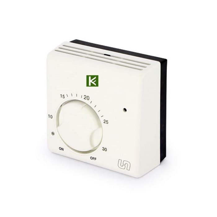 Комнатный проводной термостат Uni-Fitt 332I2000 - автоматика для водяного теплого пола Юнифит