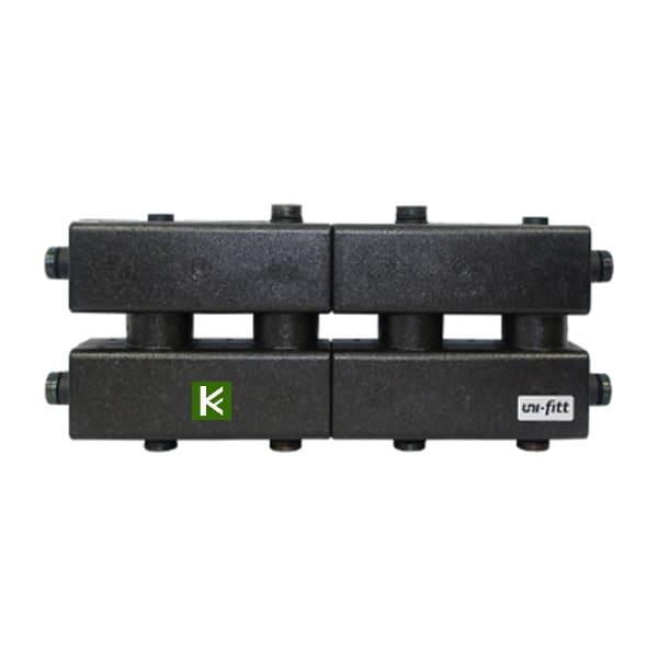 Модульные коллекторы Uni-Fitt в теплоизоляции (Юнифит)