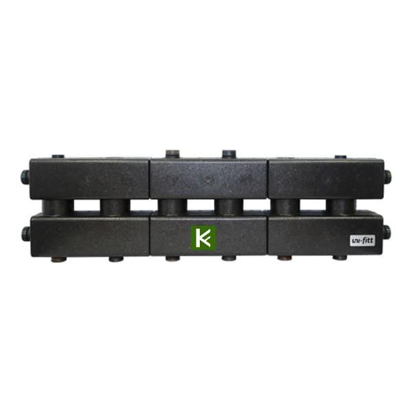 Модульный коллектор Uni-Fitt в теплоизоляции (коллекторы отопления Юнифит)