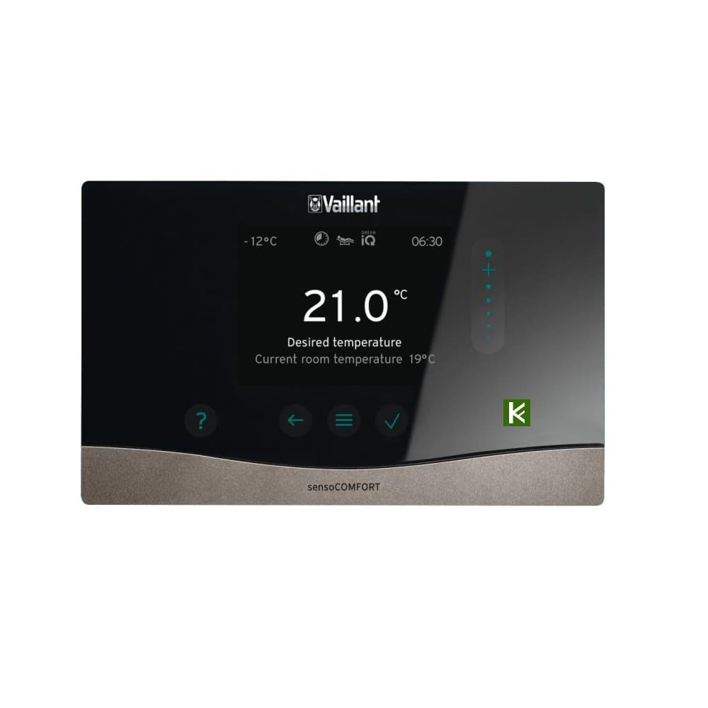 Автоматический регулятор отопления Vaillant sensoCOMFORT VRС 720 - автоматика для котла Вайлант