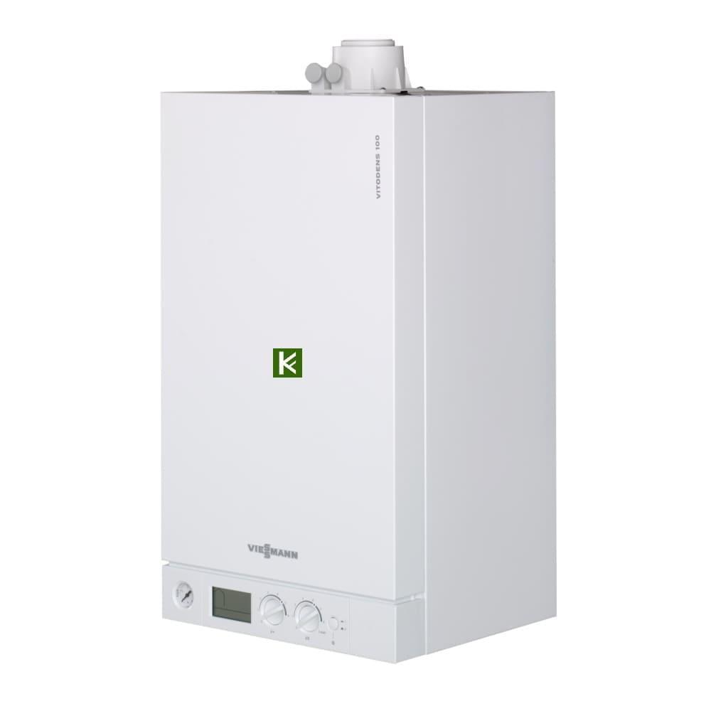 Конденсационные газовые котлы Viessmann Vitodens 100-W одноконтурные (Висман Витоденс)