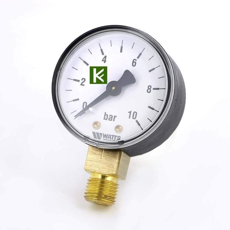 Манометры радиальные Watts 10 bar (Ваттс)